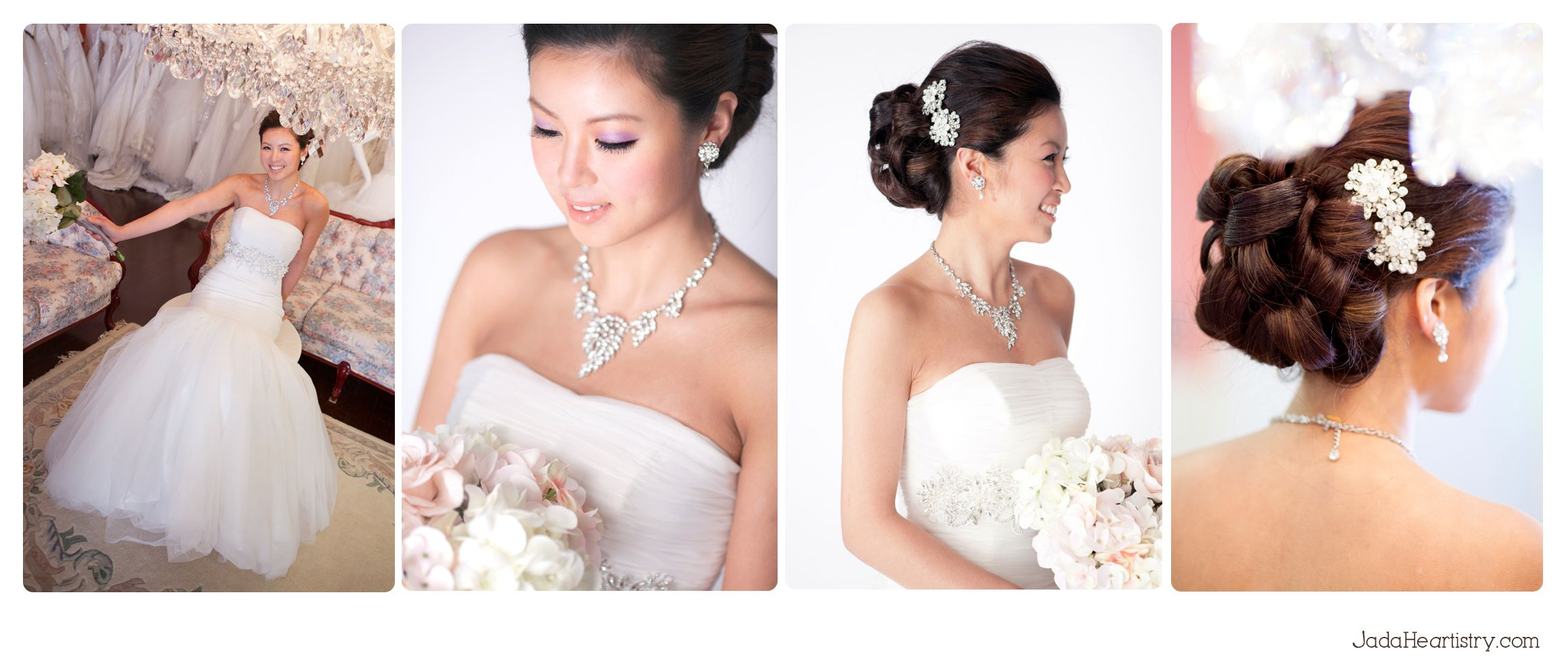 traditional chinese bridal hair and makeup : toronto
