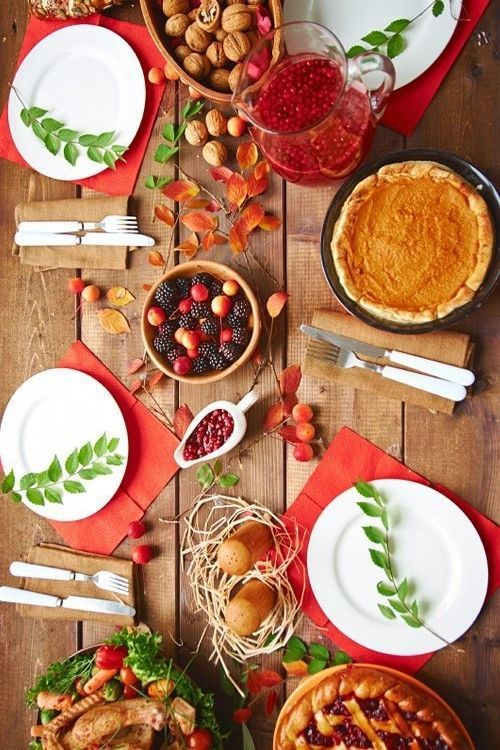Thanksgiving Tables here's how 11 celebrities decorated their thanksgiving tables