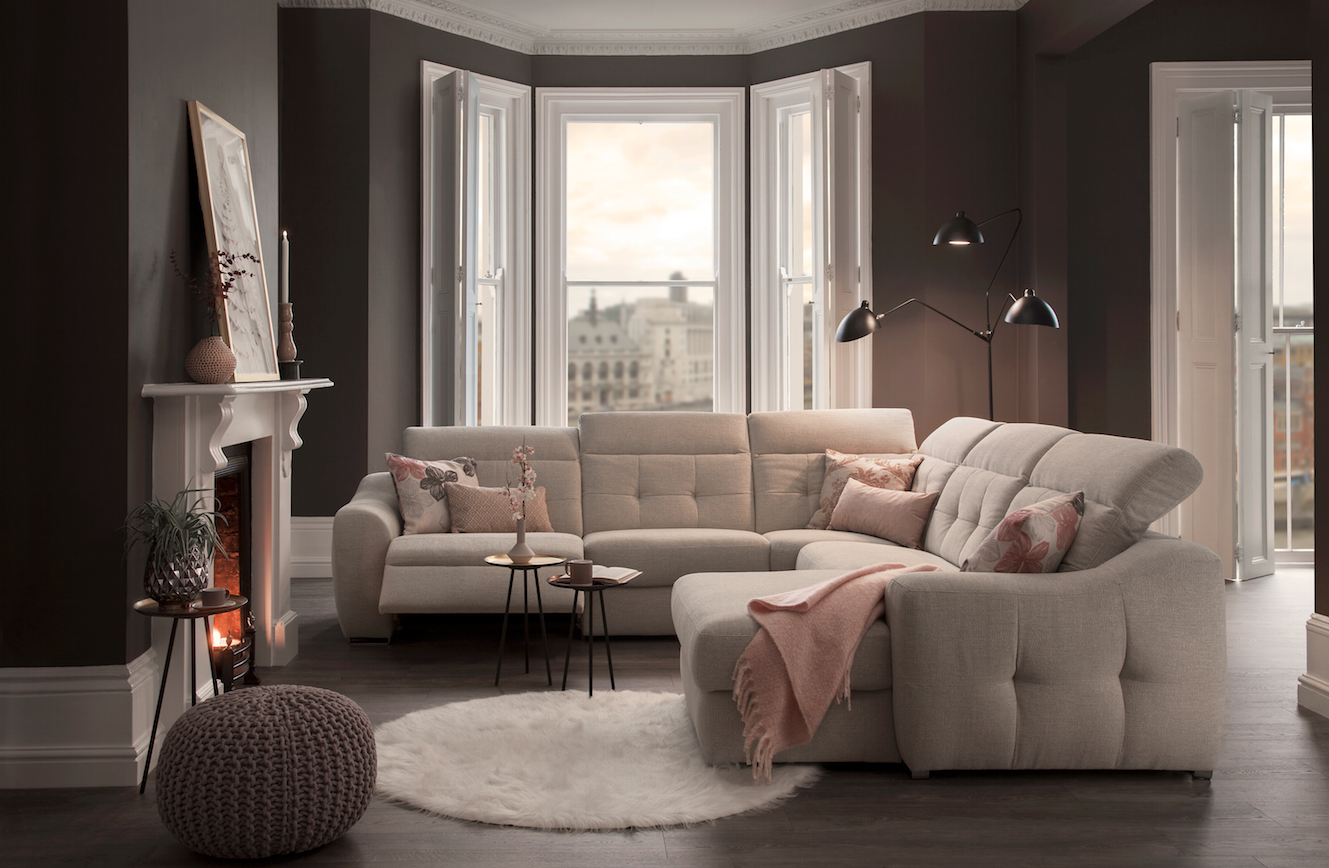 24b3dac4b6d6 The Aura range brings style and practicality together without compromising  on comfort - Aura Sofa from