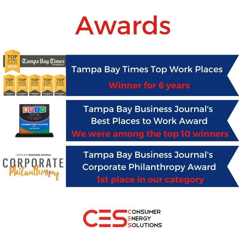 Looking For An Awesome Place To Work Take A Look At The Awards Consumer Energy Solutions In 2020 How To Memorize Things Positive Work Environment Best Places To Work