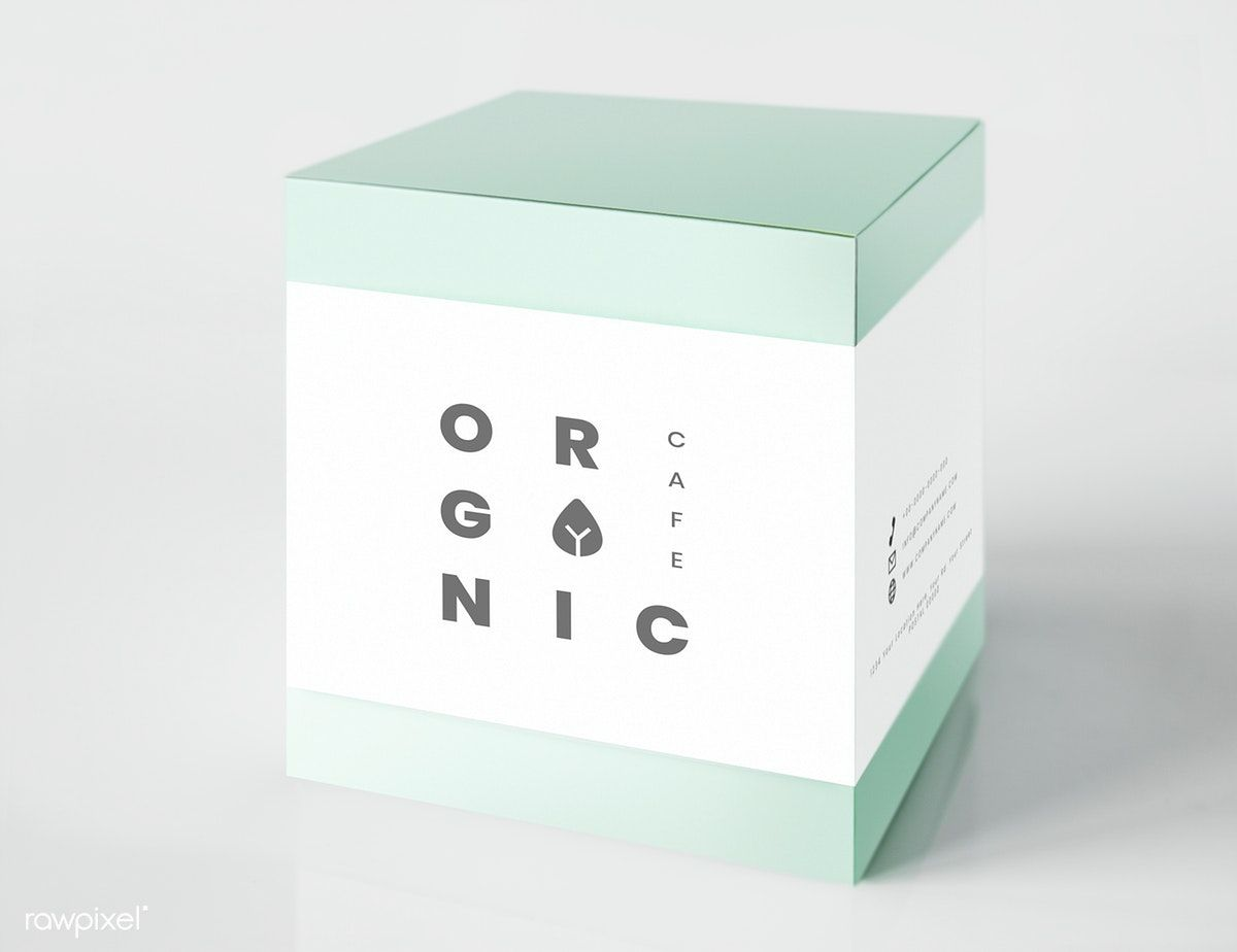 Download Download Premium Psd Of Mint Green Packaging Box Mockup 532005 Box Mockup Mockup Packaging Box Small Packaging Boxes