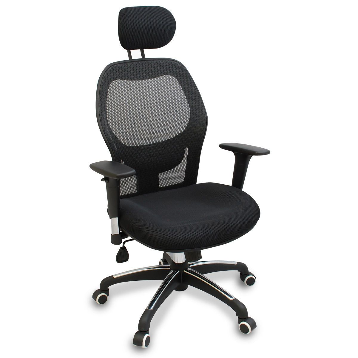 New Mesh Ergonomic Office Chair W Adjustable Headrest Arms And Lumbar Support Ergonomic Chair Ergonomic Office Chair Office Chair