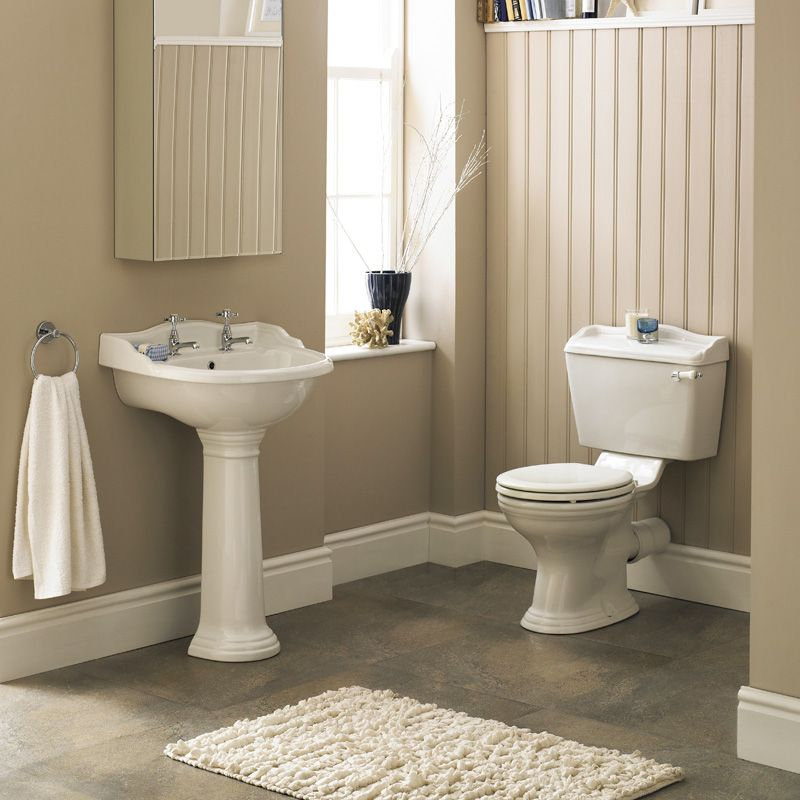 Create An Authentic Traditional Look With The Ryther 4 Piece Bathroom Set Compras Banos Living