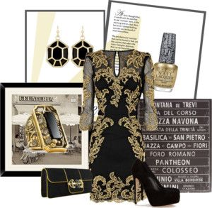 """Beautiful Baroque"" by ccurlgirl ❤ liked on Polyvore"