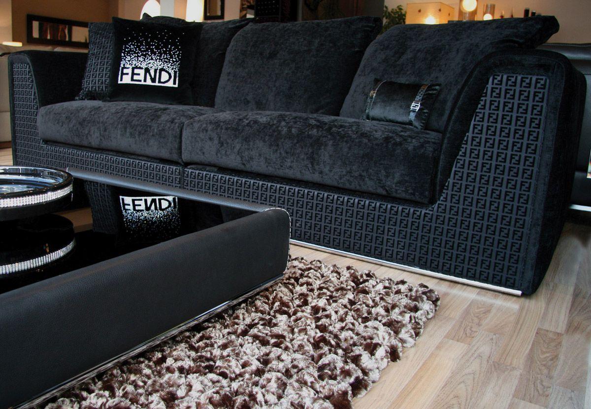 fendi casa prestige sofa | fendi casa furniture | pinterest ... - Fendi Sofa