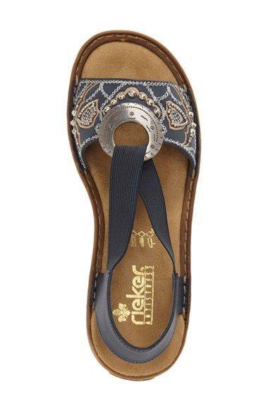 6ead93fd7444 Achat en ligne dans un vaste choix sur la boutique Chaussures et Sacs. Rieker  shoes Tongs Femme, Sandales ...