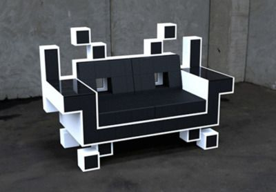 Space Invader chair designed by Igor Chak