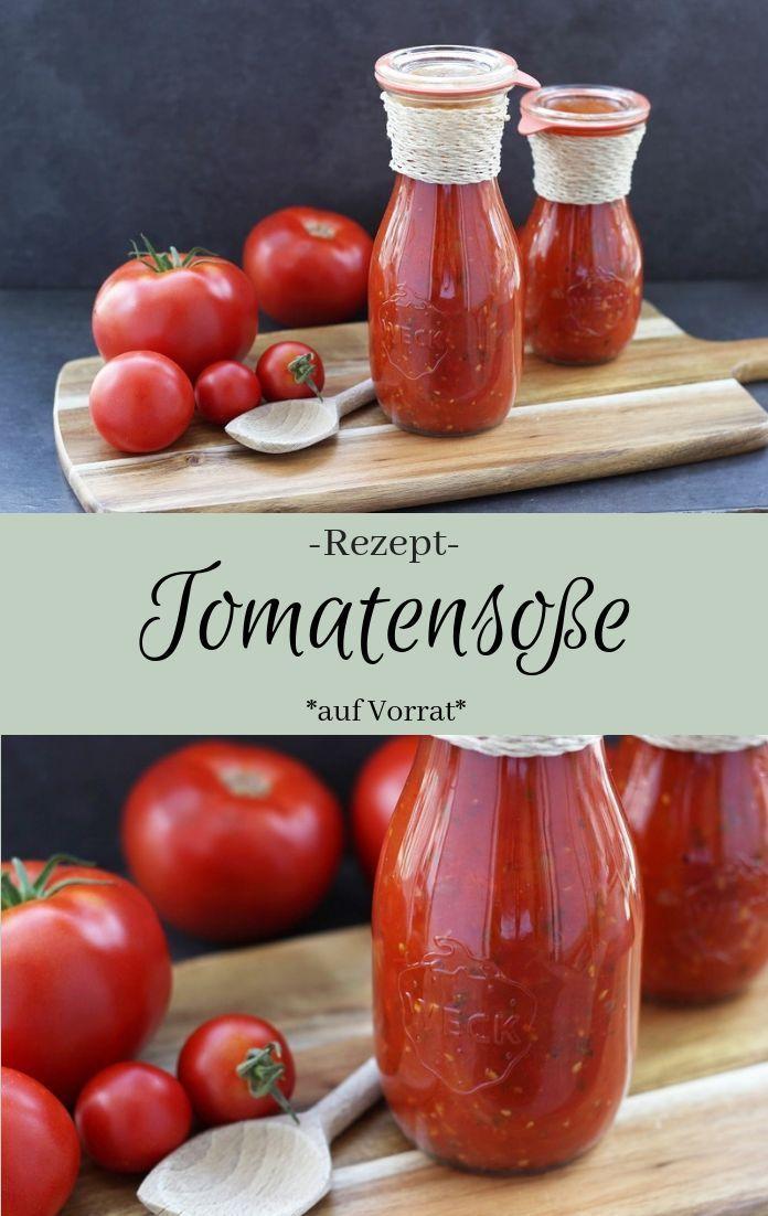 Photo of Tomatensoße einkochen – The inspiring life