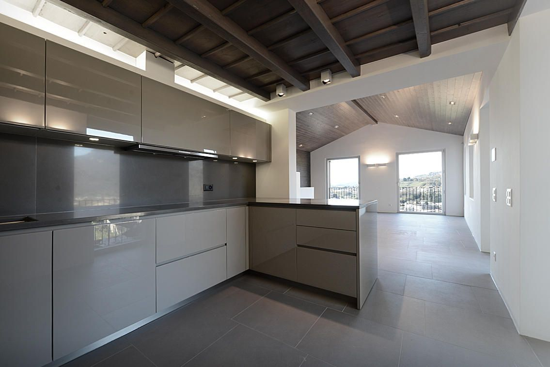 Progetto di arredamento completo cucina varenna arredo bagno armadi poliform cucina varenna - Progetto arredo cucina ...