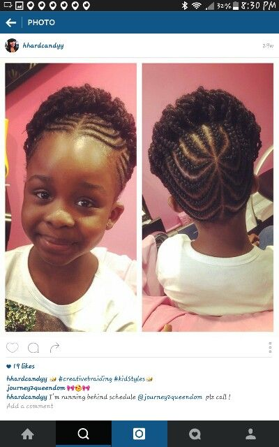 Natural hairstyles for kids, Cornrow styles for kids, Kids hairstyles