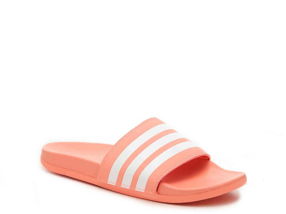 adidas Adilette Slide Sandal Women's Women's Shoes   DSW