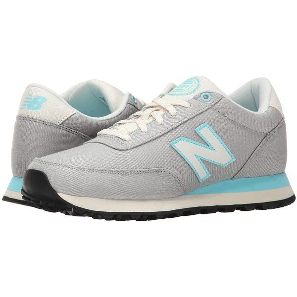 New Balance WL501 Women's Running Shoes, Silver ($50) ❤ liked on Polyvore  featuring