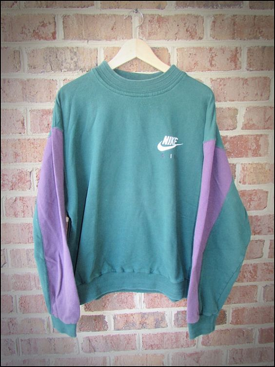 Vintage 90\u0027s Nike Air Panel Sweatshirt Crewneck , Size Large