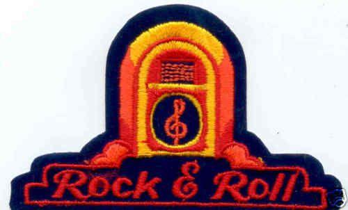 Rock Roll Juke Box 50 S 60 S 70 S Music Iron On Patch