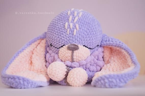 Crochet PATTERN bunny amigurumi The most sought after handmade toy Easy crochet pattern Plush pattern #bunnyplush