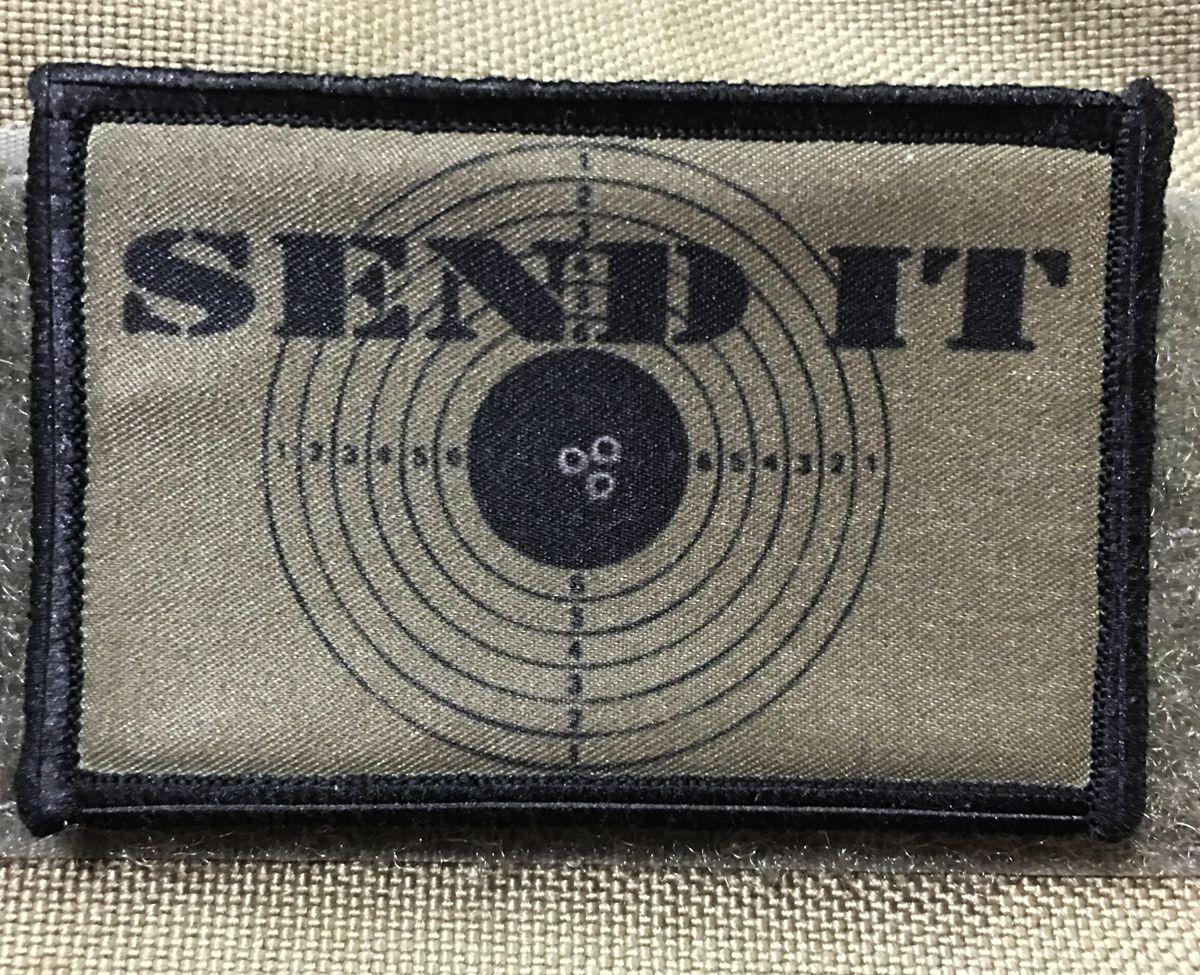 Send it Sniper Morale Patch   Morale patch, Patches