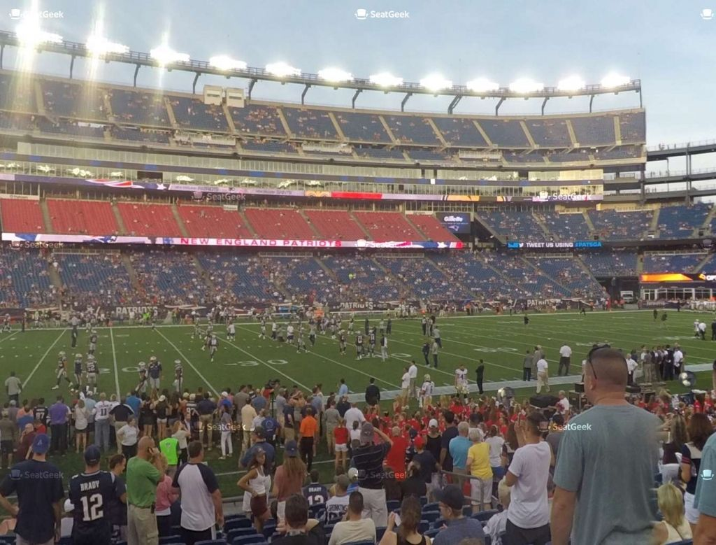 Gillette Stadium Seating Google Search New England Patriots Tickets New England Patriots Nfl New England Patriots