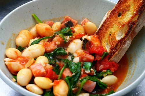 fast white bean stew   smittenkitchen.com