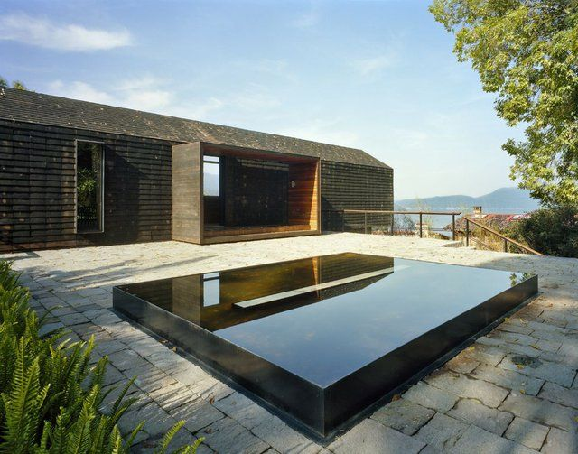 Raised pond - now this one looks so modern and classy! | Garden ...