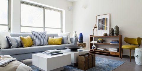 גלרייה לבית במרכז הארץ Grey Couch Living Room Living Room Grey Blue Living Room