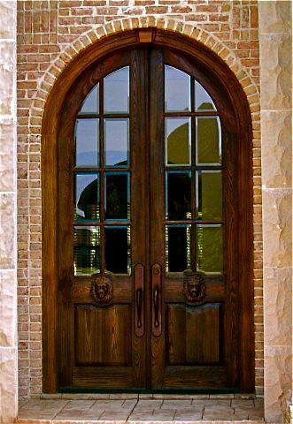 Dual Monarch Clark Hall Doors Charlotte Nc Custom Wood And Glass