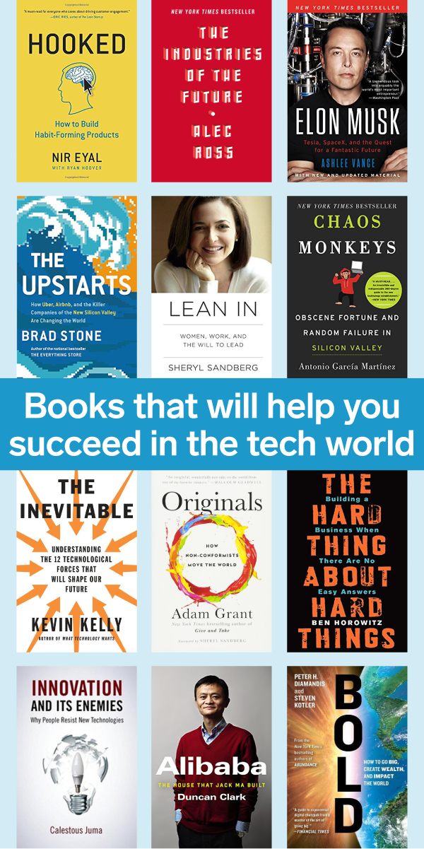 15 Books That Will Help You Succeed In The Tech World Tech Books Books You Should Read Books