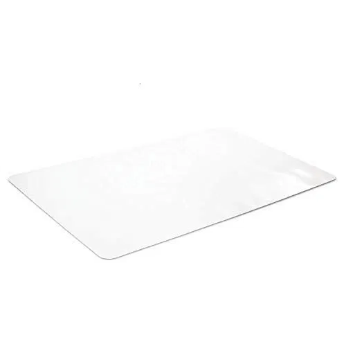 Crystal Clear Desk Protector 24 X 48 Inches Clear Desk Desk