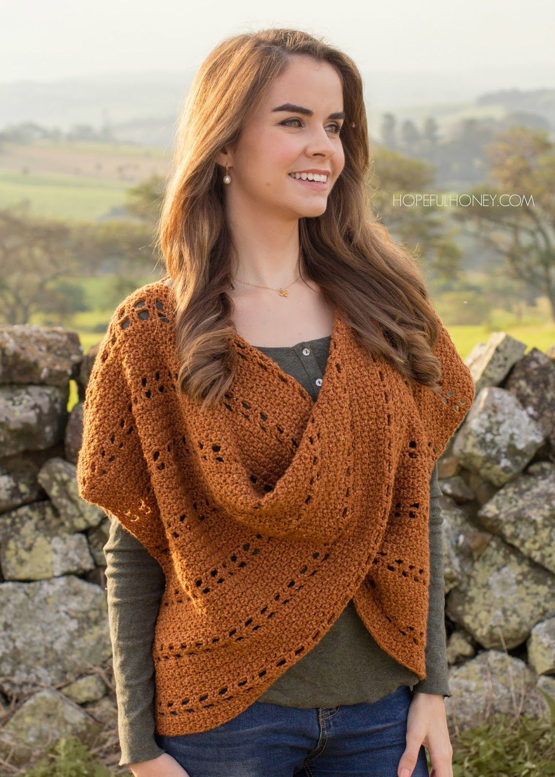 Cinnamon Roll Pullover Sweater - Crochet Pattern   Giveaway ...