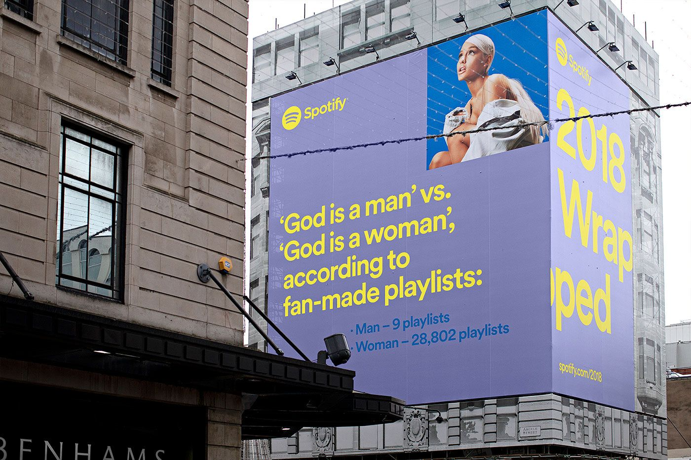 Spotify 2018 Wrapped on Behance in 2020 Spotify