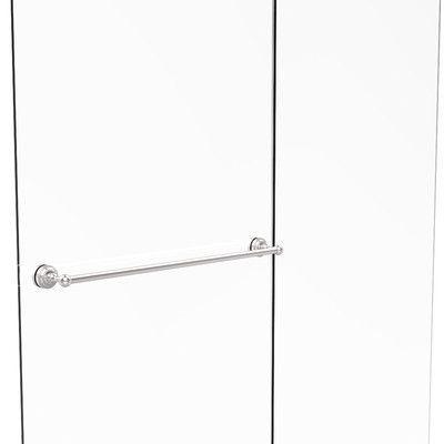 "Allied Brass Dottingham 30"" Wall Mounted Shower Door Towel Bar Finish:"