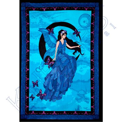 Cotton Single Tapestry  Moon Fairy  (each)
