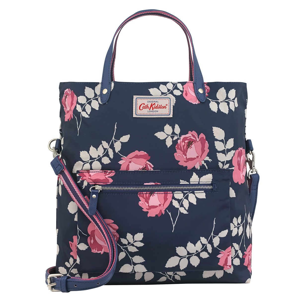 Take One Cross Body Bag Printed With Our Brooke Rosebud Design Turn It Outside And Discover A Whole New Colour On The Inside This Reversible Is Like