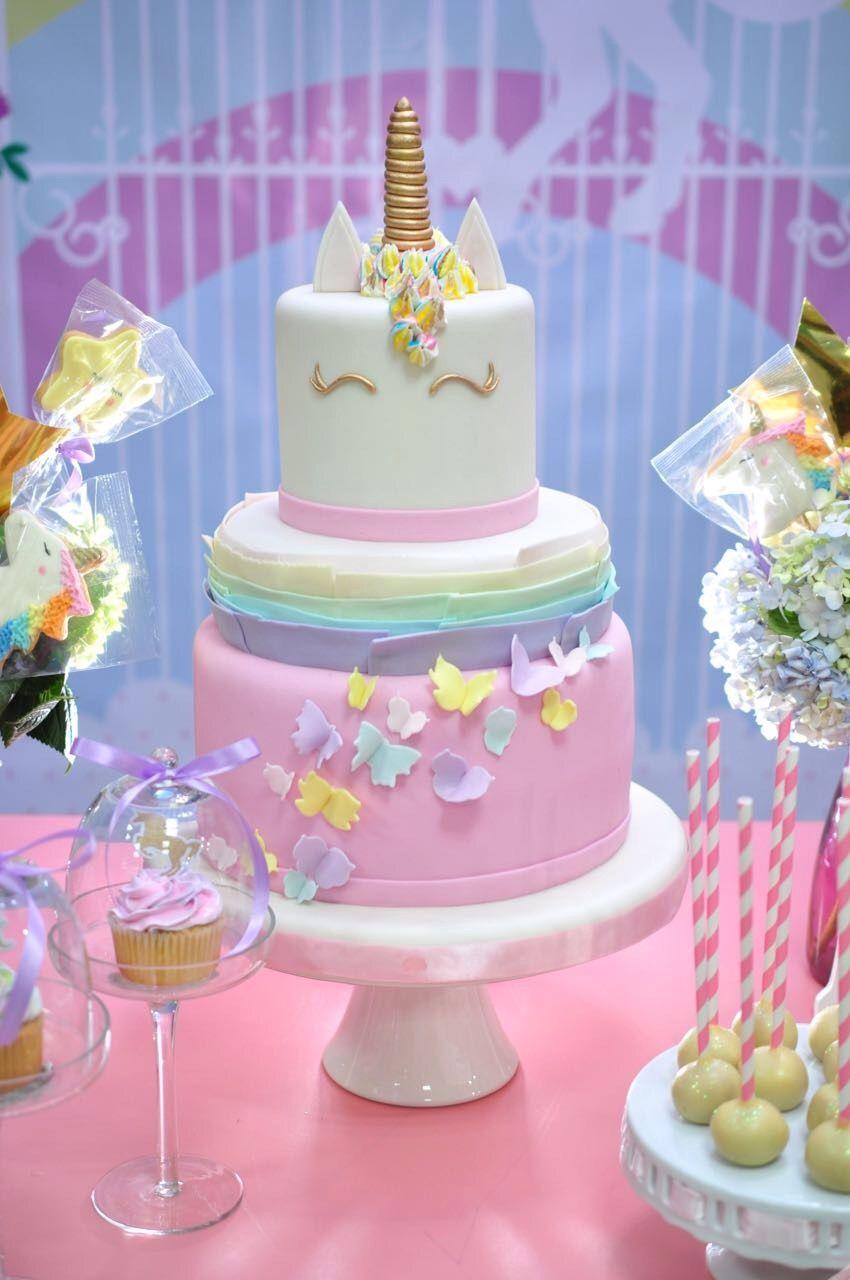 Ideas fiesta de unicornio para un primer a ito 1 a o for Diseno de mesa de unicornio