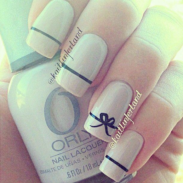 Monitos Cute Nails Manicure Simple Nails