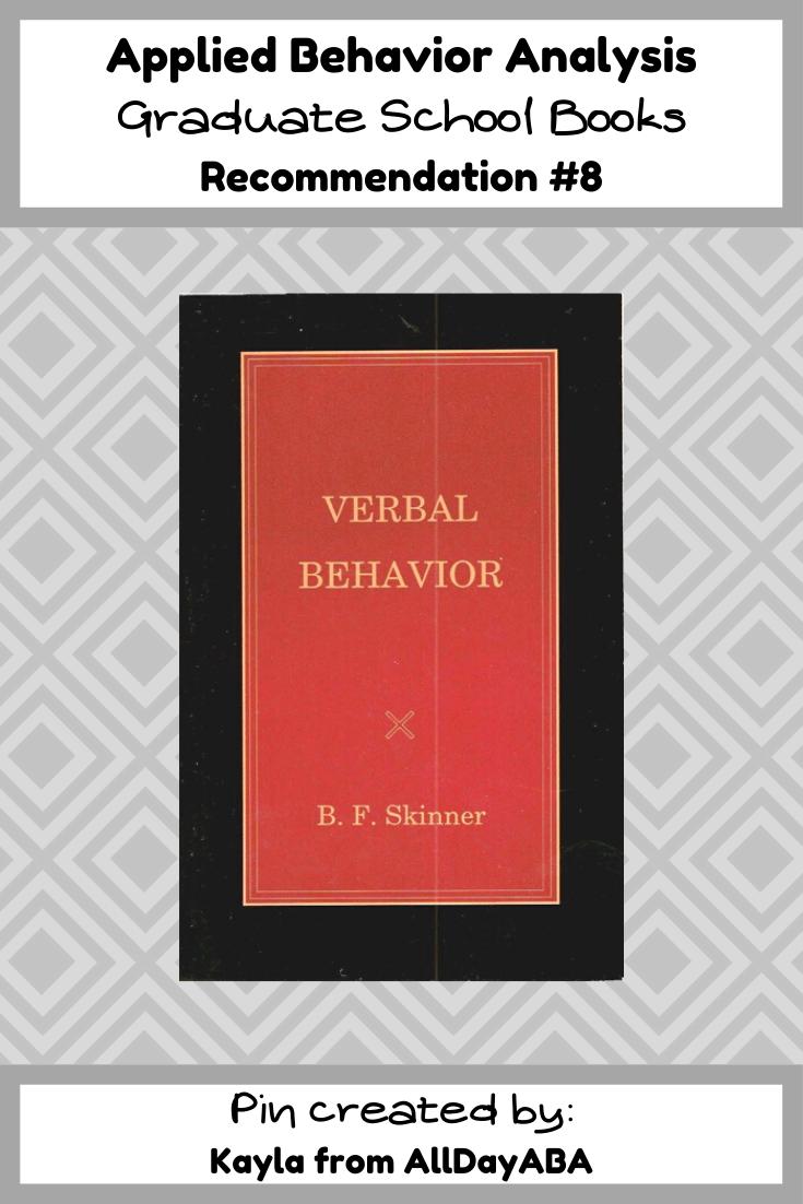 Masters thesis on behavior analysis