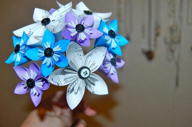 7 Steps To Make An Origami Kusudama Flower Ariana Origami