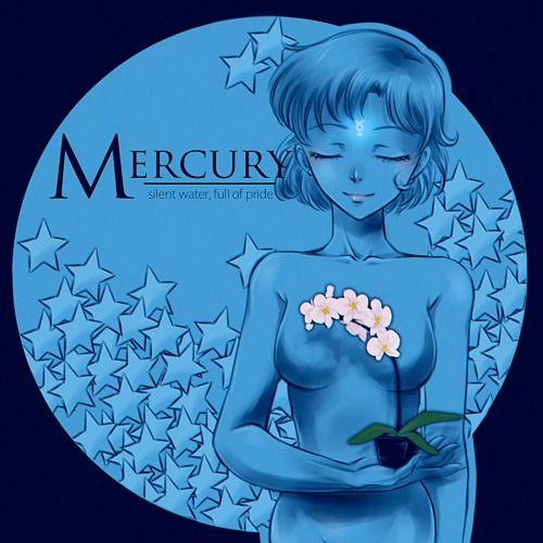 girlsbydaylight:  Sailor Moon. Stars & flowers. by April Ame...