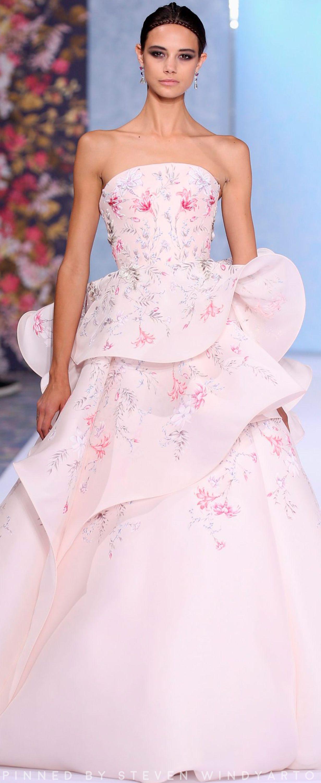 Avondjurken Le Couture.Ralph And Russo Haute Couture Kleding Jurken Lange Avondjurken