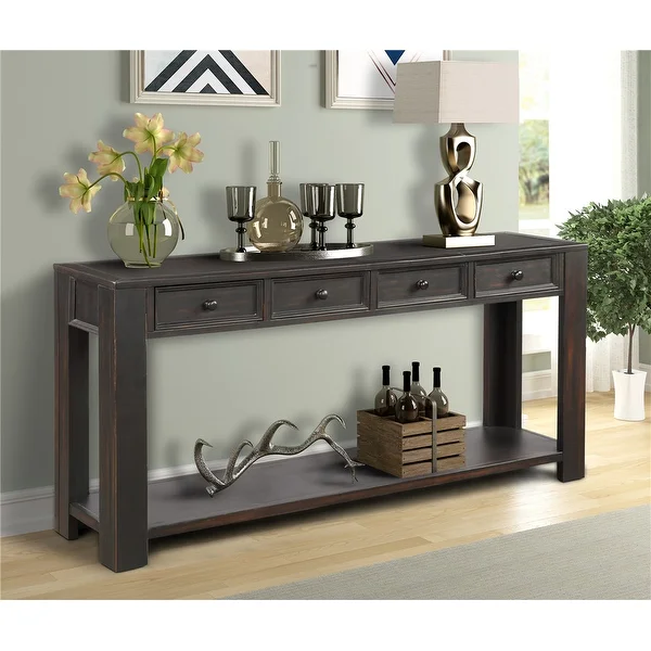 Overstock Com Online Shopping Bedding Furniture Electronics Jewelry Clothing More In 2020 Sofa Tables Living Room Sofa Table With Storage Long Sofa Table