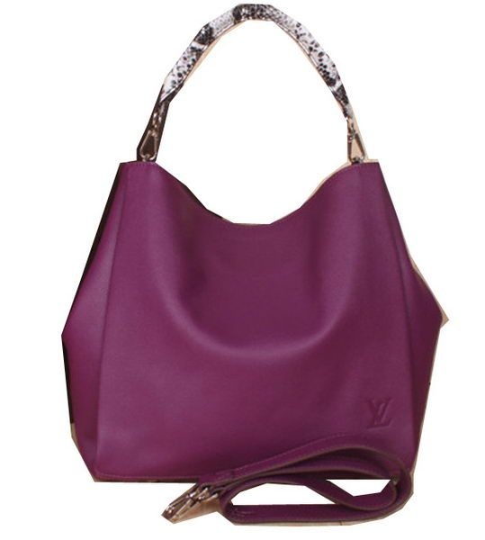 bad4d6502d6b Louis Vuitton Suede Leather Bagatelle M91671 Purple -  239.00 ...