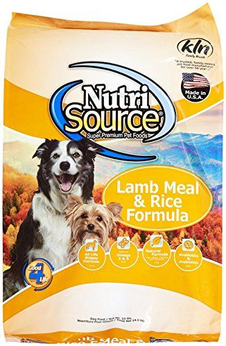 Tuffys Pet Food 131120 Nutrisource Lambrice Dry Food For Dogs