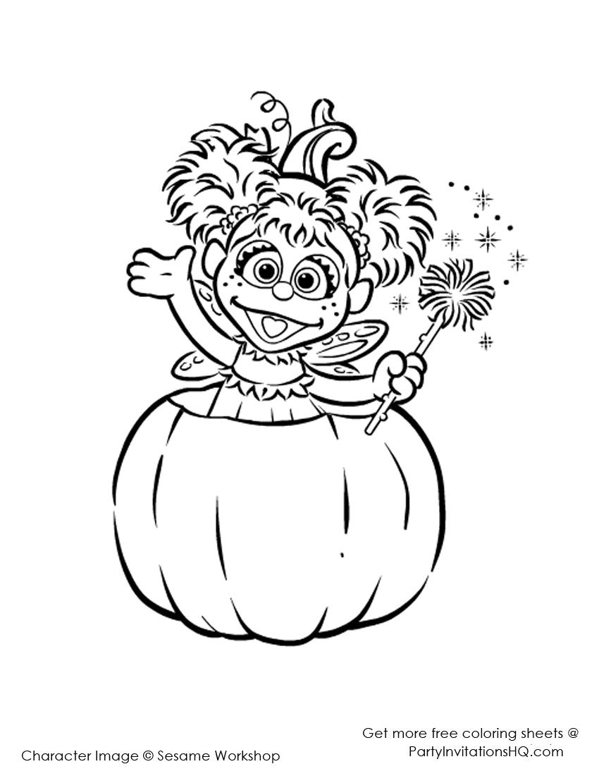 Abby Cadabby Coloring Pages Free Coloring Pages Download | Xsibe ...