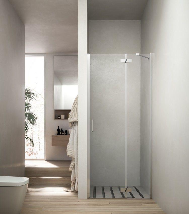 Badezimmer auf zwei Ebenen mit gemauerter Dusche Badezimmer - badezimmer mit dusche