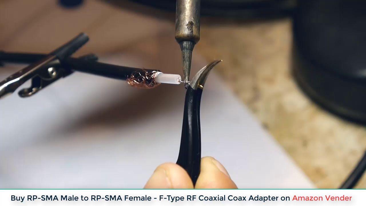 une autre chance fournisseur officiel magasiner pour le luxe How to Crimp SMA connector   Amazon Vender in 2019   Nail ...