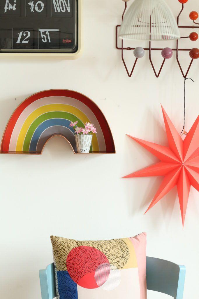 Regenbogen Regal für's Kinderzimmer regenbogen