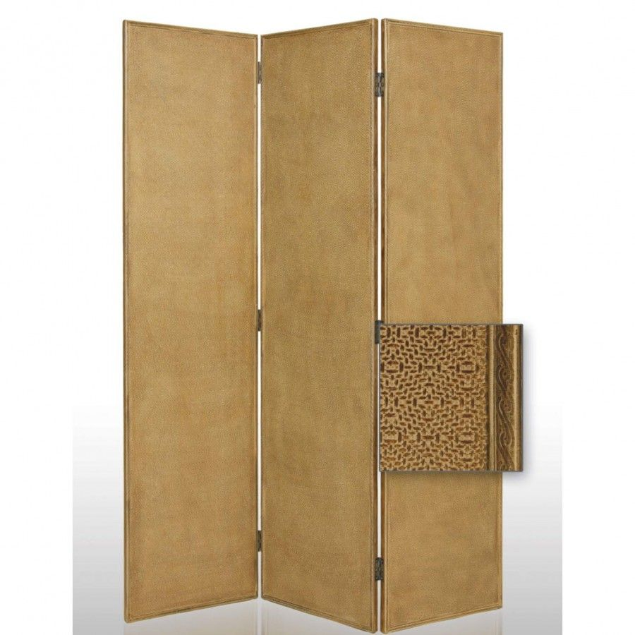 Screen Gems Crushed Bamboo Decorative Room Divider SG 43
