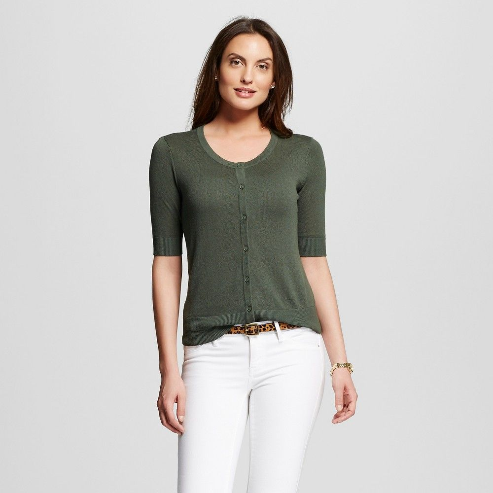 Women's Short Sleeve Cardigan | Products | Pinterest | Products