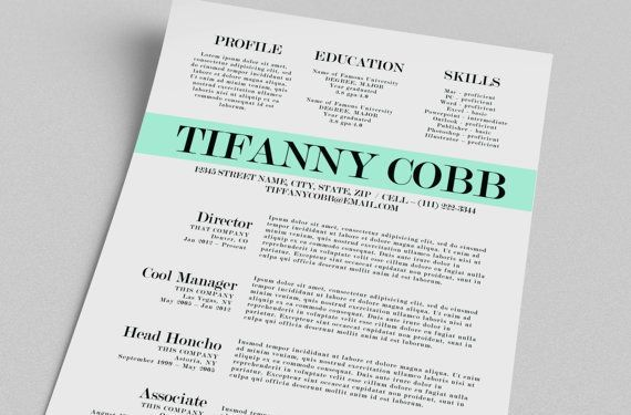 Resume Examples: Top 10 Free Creative Resume Templates Word .