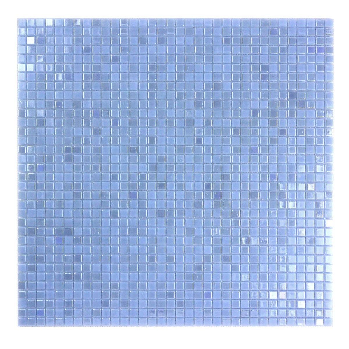 Galaxy Collection Light Blue Glass Mosaic Backsplash Square | Galaxy ...