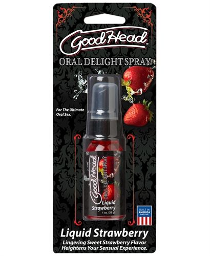 GOODHEAD ORAL DELIGHT SPRAY  LIQUID STRAWBERRY - 1 OZ.